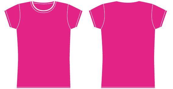 Girls t-shirt template | Pinterest | Girl shirts
