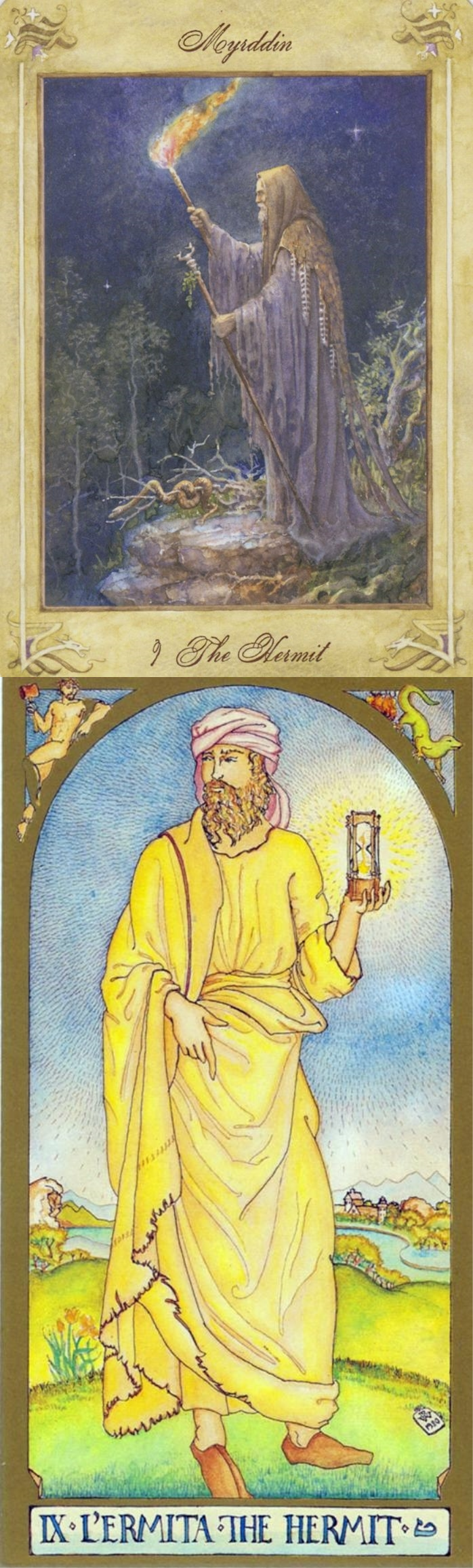 the hermit yes or no
