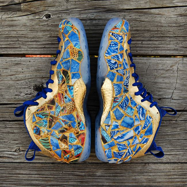 Nike Air Foamposite One Kintsugi Custom