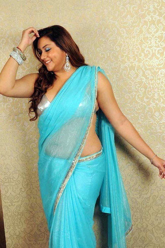 hot saree Namitha