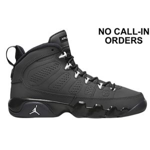 new arrival 233e3 e9539 Jordan Retro 9 - Boys' Grade School - Anthracite/White/Black ...