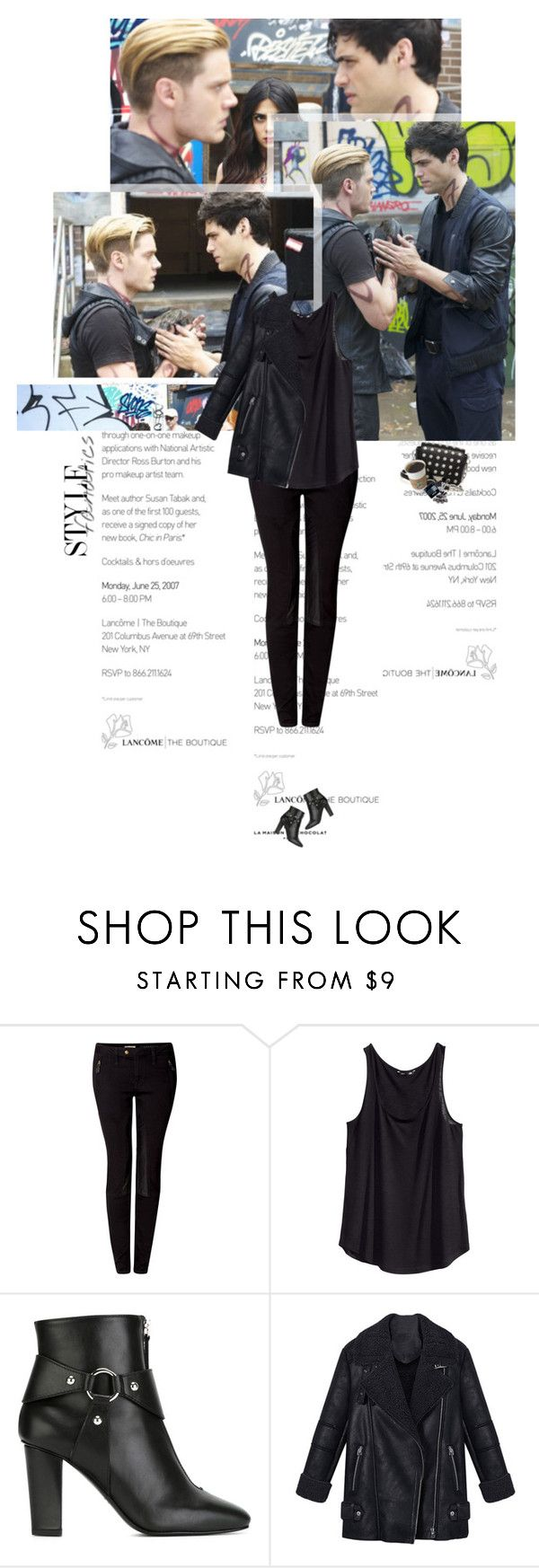 """Untitled 3634..."" by thplacebo ❤ liked on Polyvore featuring Burberry, H&M, Giuseppe Zanotti and Alexander Wang"