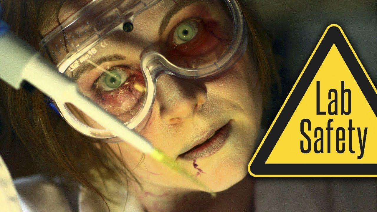 Zombie College The 5 Rules of Lab Safety Lab safety