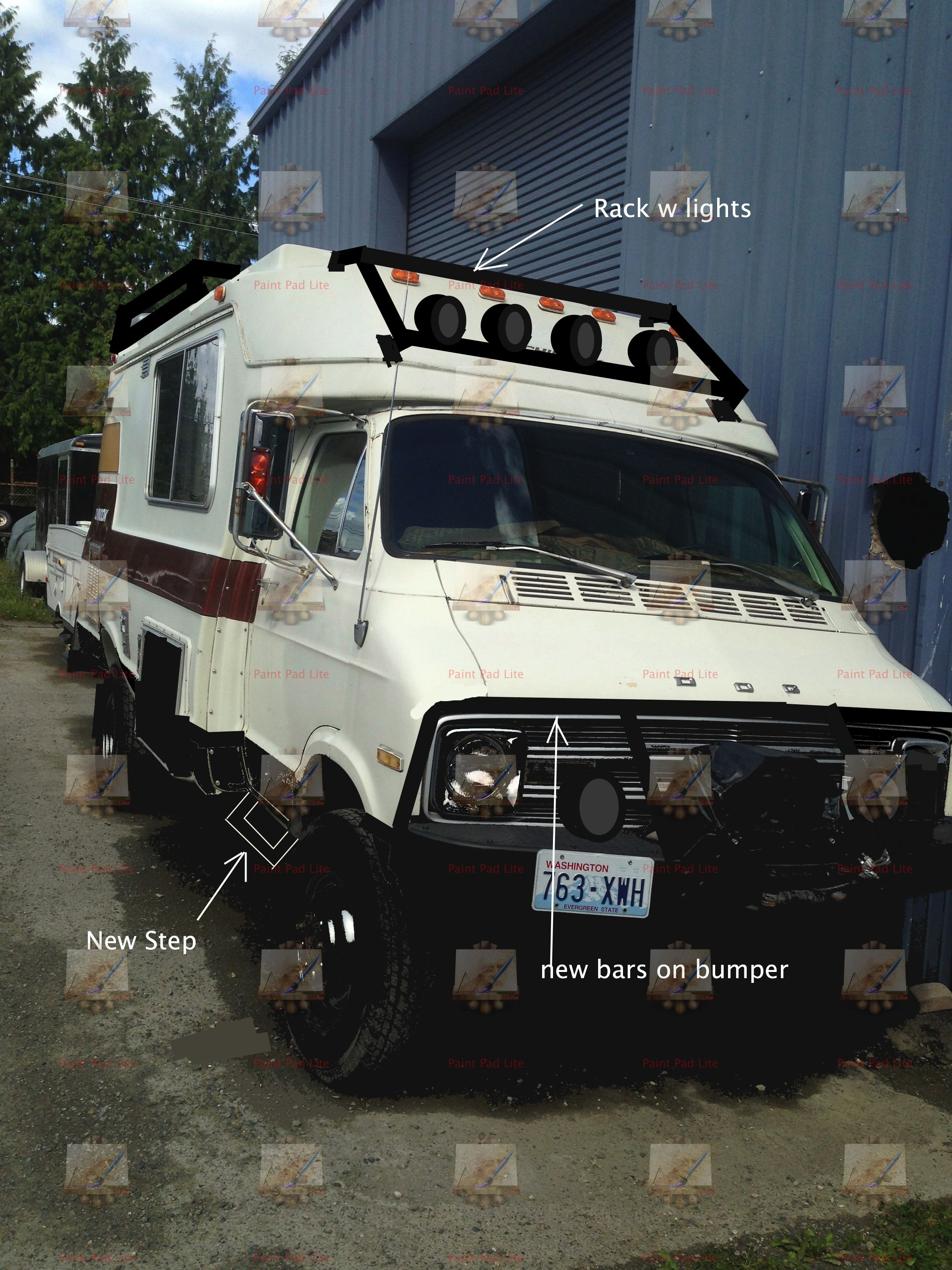 1977 chinook | 4x4 rv | Recreational vehicles, 4x4 van, Van camping