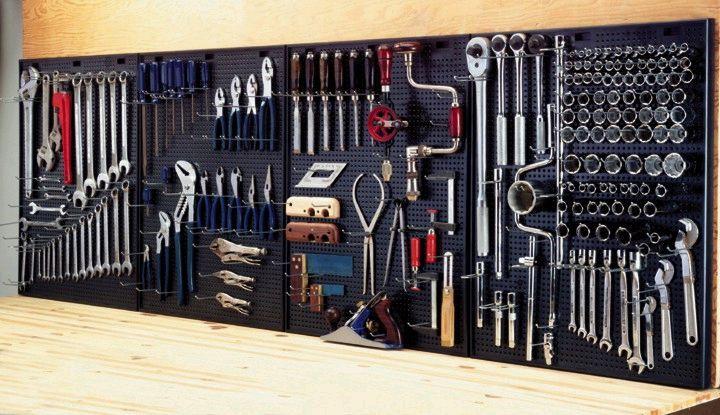 Organize Your Tools Garage Tool Organization Garage Tool Storage Garage Storage Organization