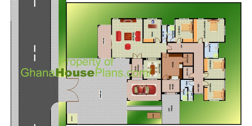 House Building Plans For Ghana Chad Gabon Congo More Building A House Building Plans House Plans