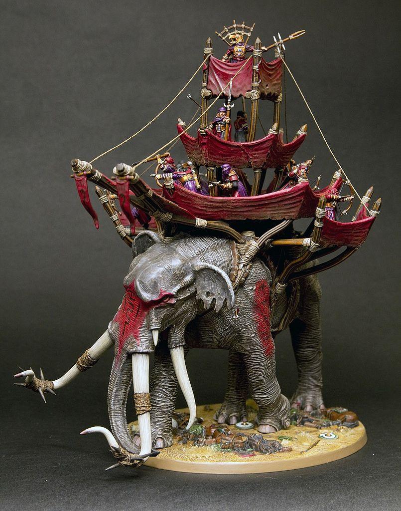 Details about  /Games Workshop Lord of the Rings War Mumak of Harad Mûmak Trunk x1 Bit New