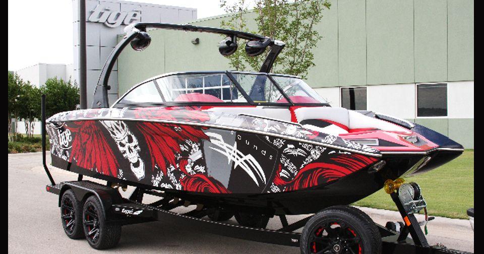 boat wrap graphics boat