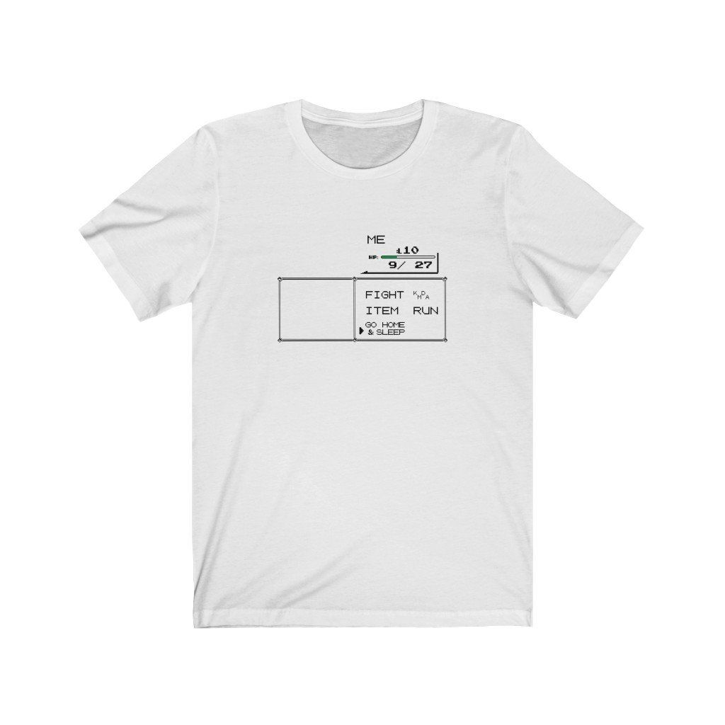 Photo of Unisex Go Home & Sleep Tee – White / XL