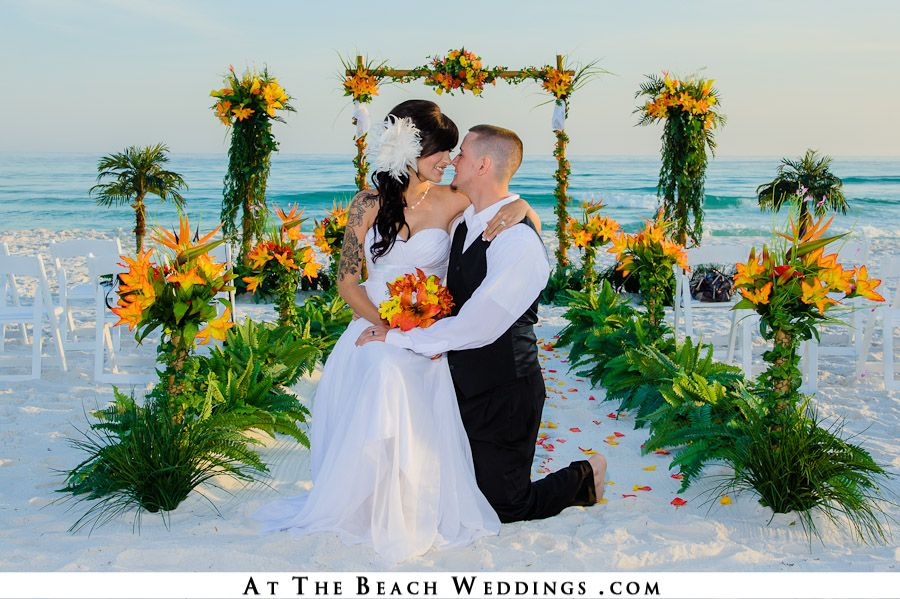 The Best Beach Wedding Setups For Your Florida Or Alabama Beach