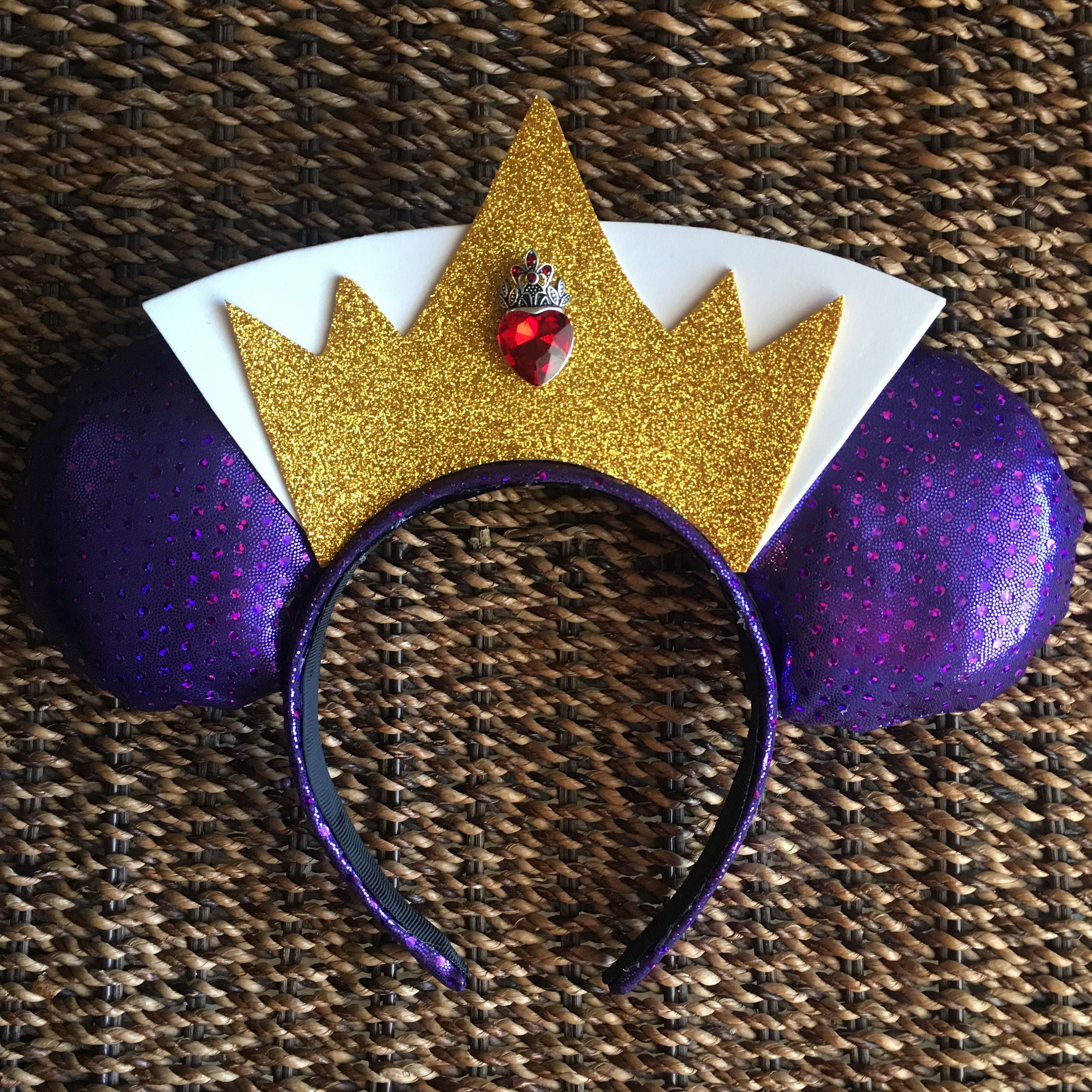 Evil Queen inspired Minnie Mouse Ears.