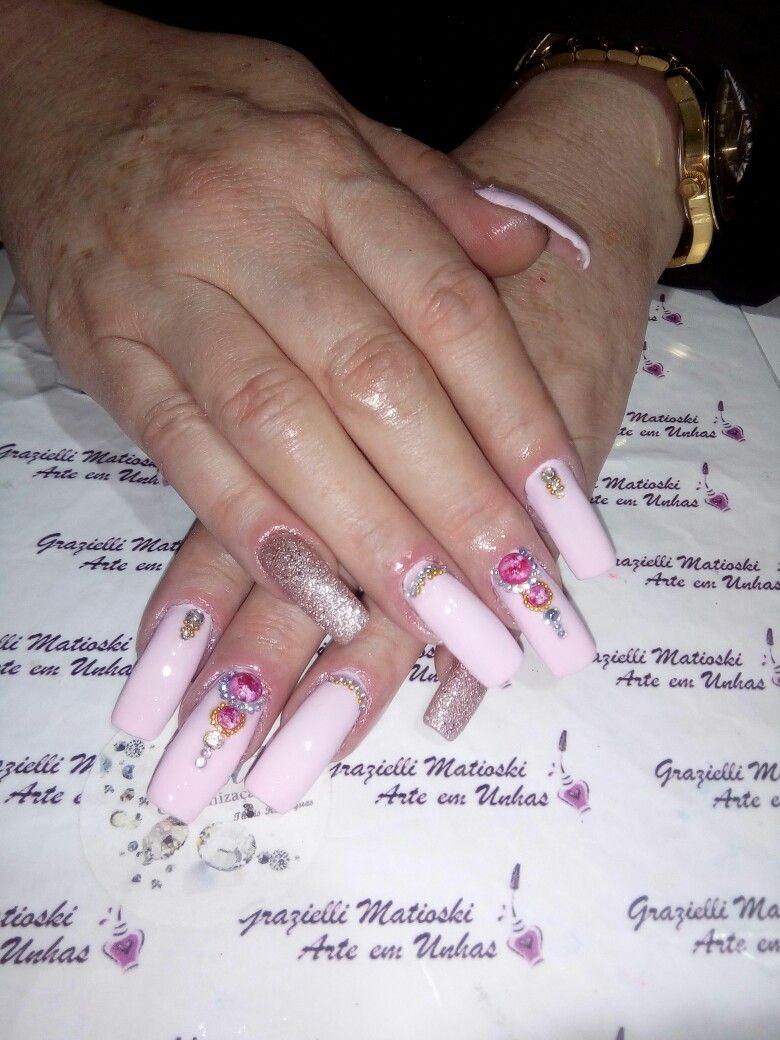 Pin by 🌹Christina🌹 🌹🌹🌹baerga🌹🌹🌹 on Unhas que fiz Nails