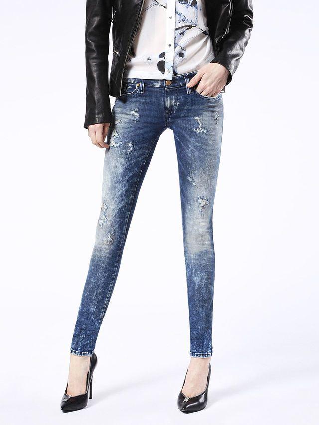 a9012f3b Diesel SKINZEE-LOW 0854L Diesel Online, Super Skinny, Women's Jeans, Skinny  Jeans