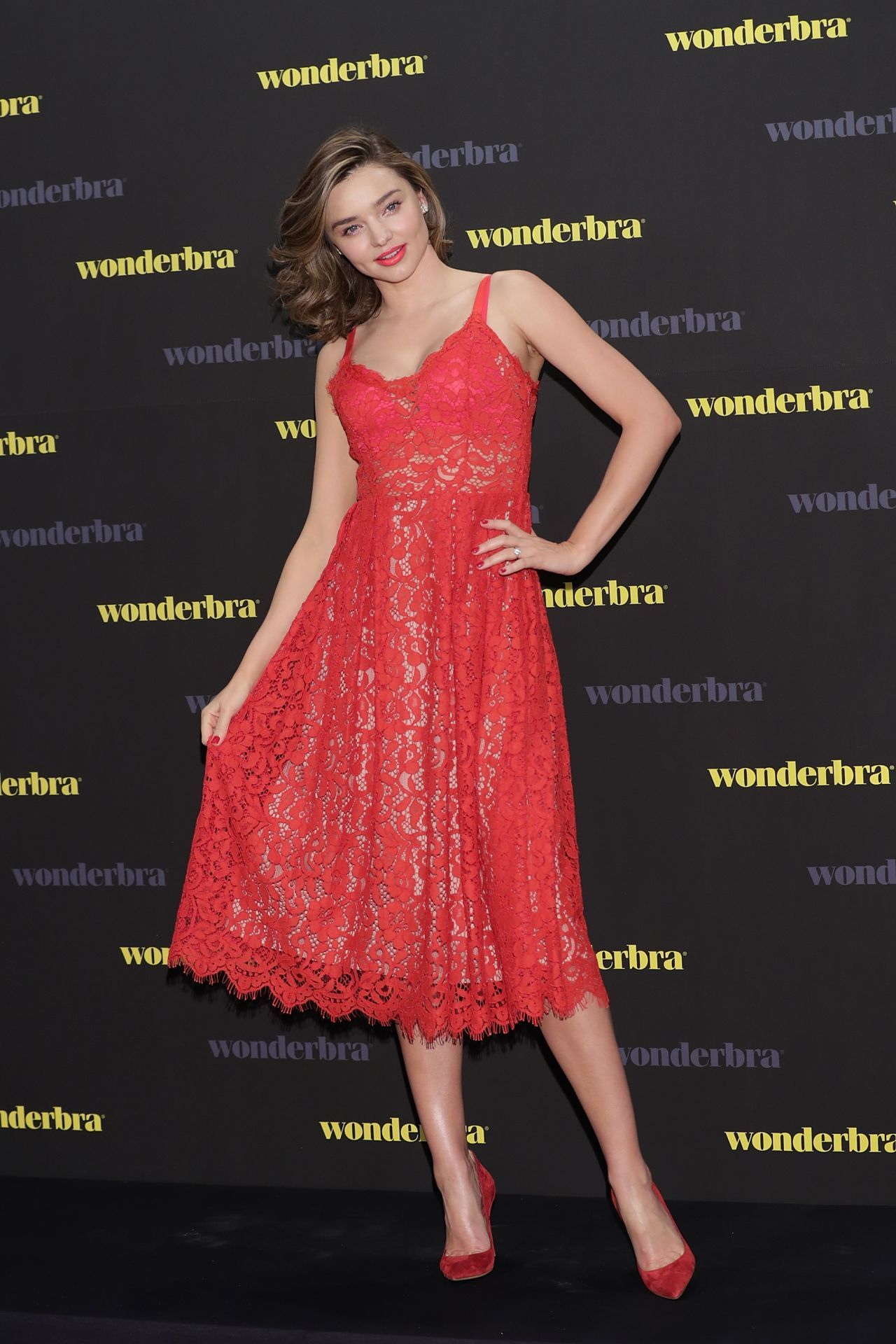 Miranda Kerr at The Great Wonderbra Event in Seoul, South Korea