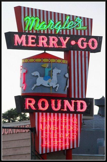 Margie's Merry-Go-Round in Lone Pine, California.