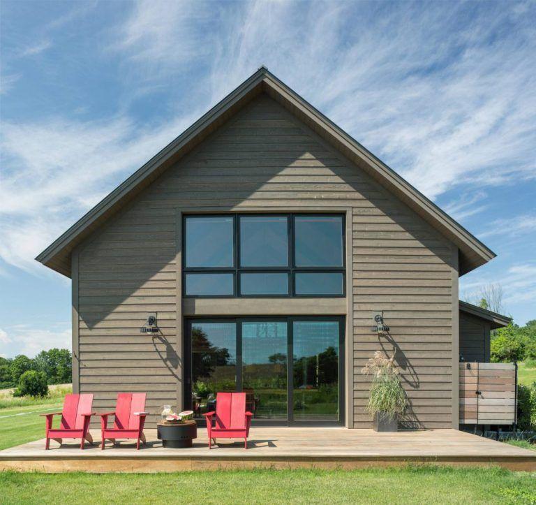 Une grange moderne dans le Vermont | Grange moderne ...