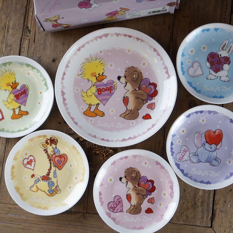 Suzy S Zoo Baby Plate Set Dinnerware Feeding Set Kids Pl Ad 1 Suzy S Zoo Baby Plate Set Dinnerware Feeding Set Kids Plate Dishes C Baby Plates Baby Feeding Kids Plates