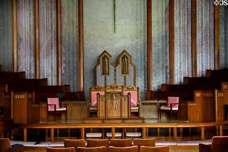 Altar of Boston Avenue Methodist Church. Tulsa, OK