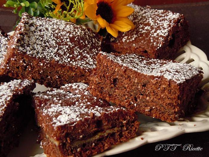 Quadrotti di tortina al cacao dolci dietetici torte for Dolci dietetici