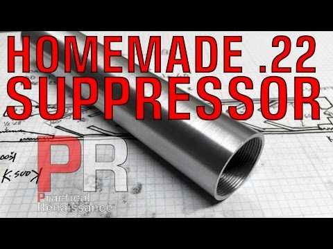 how to make a suppressor for a.22 long rifle