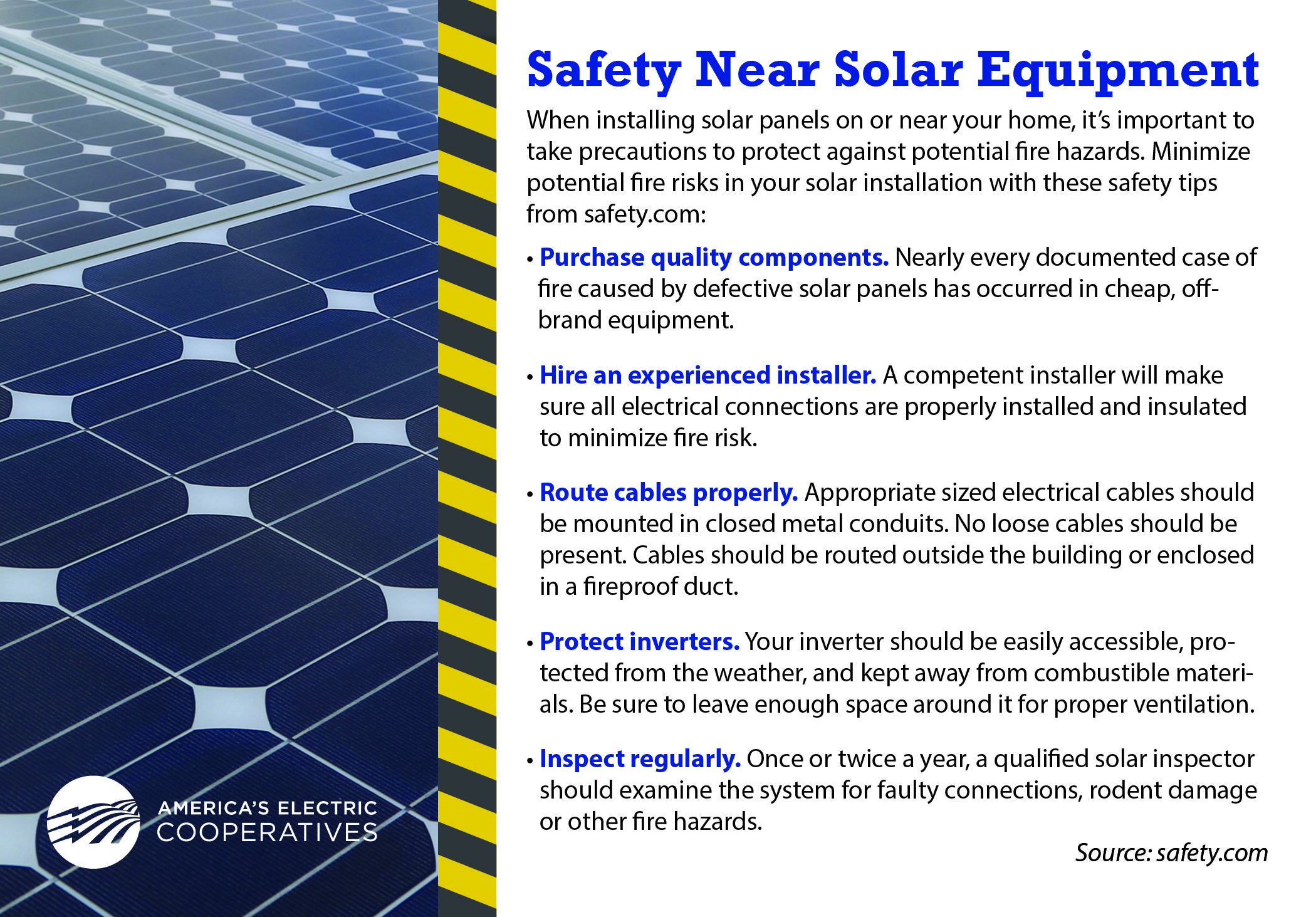 When Installing Solar Panels On Or Near Your Home It S Important To Take Precautions To Protect Again Solar Installation Solar Panel Installation Solar Panels