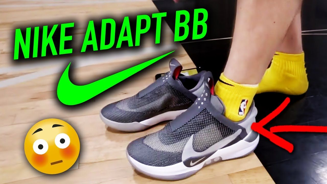 Mensurable Orador Inadecuado  Nike Adapt BB Unboxing + Performance Test | Self Lacing Sneakers | Lacing  sneakers, Nike, Sneakers
