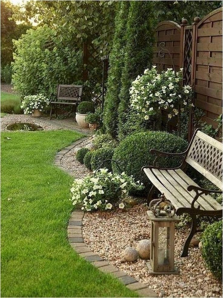 Small Yard Idea Backyard Landscape Architecture Rock Garden Landscaping Front Yard Landscaping Design