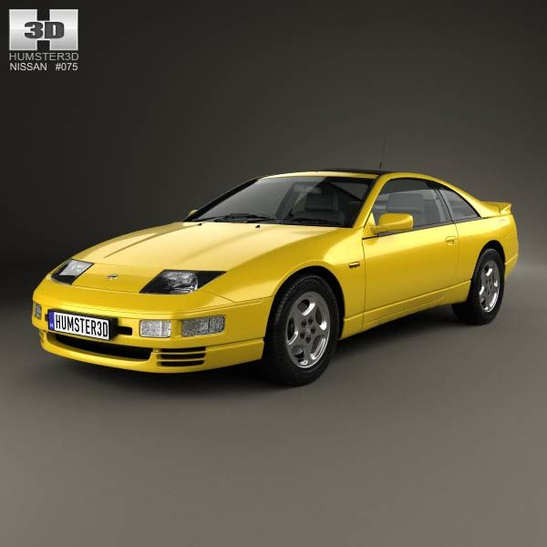 300zx Z32 Turbo Lag: Nissan 300ZX (Z32) 1989 3d Model From Humster3d.com. Price