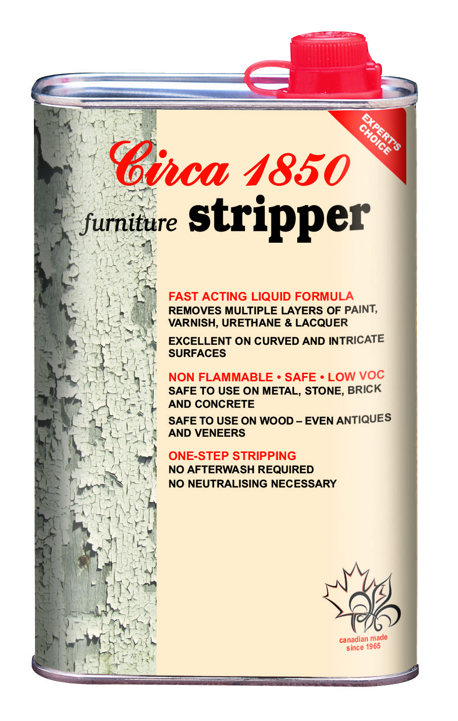 Circa 1850 Furniture Stripper removes old paint  varnish  shellac  lacquer  and urethane. Circa 1850 Furniture Stripper removes old paint  varnish  shellac