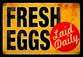 eggs sign - Google Search