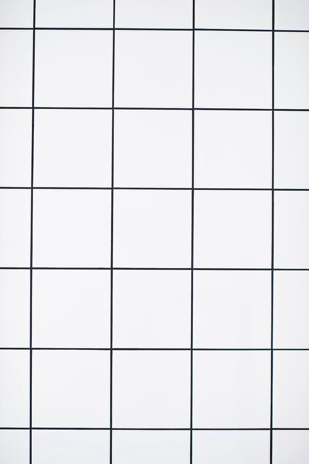 douche carrelage blanc carreaux noir