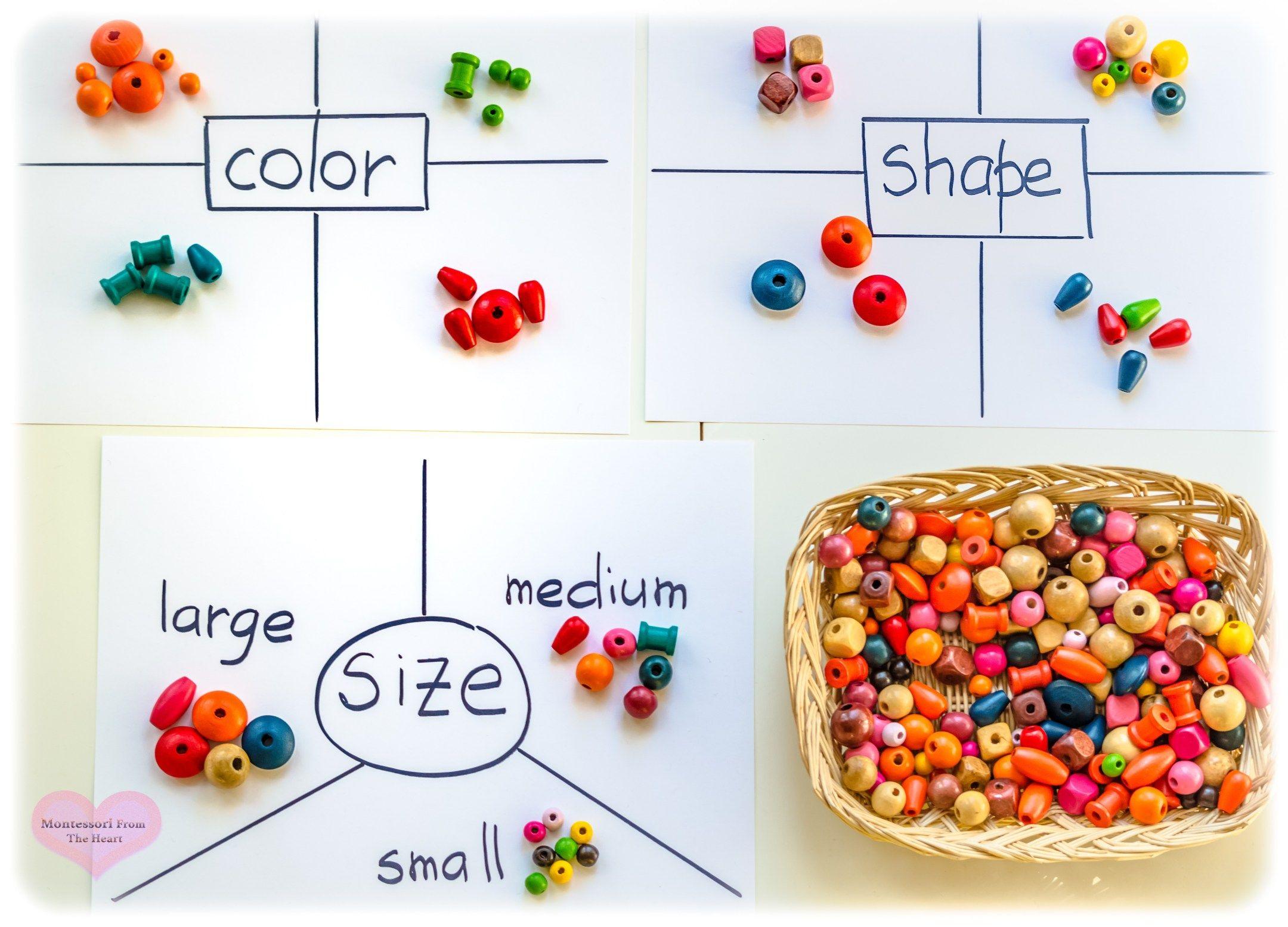 Sorting Classifying Kindergarten Montessori From The Heart Diy Sorting And Kindergarten Sorting Activities Kindergarten Readiness Montessori Math Activities [ 1555 x 2160 Pixel ]
