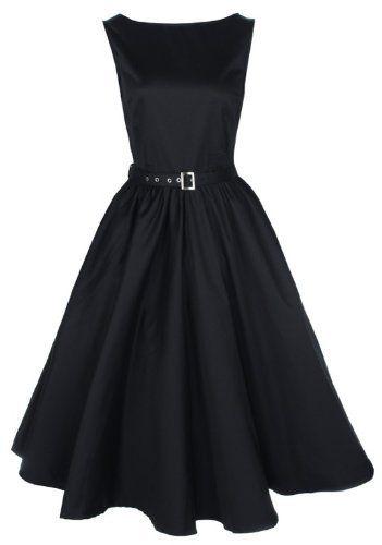 Schwarze kleider gr 46