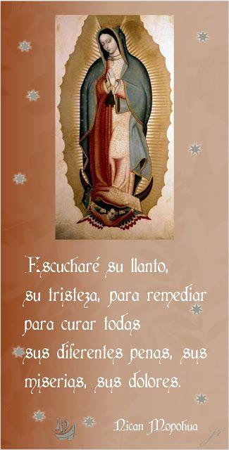 Tarjetas y oraciones catolicas tarjetas virgen de guadalupe religion thecheapjerseys Choice Image