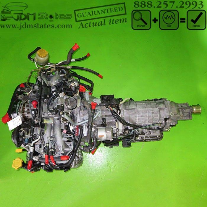 JDM EJ20 2.0L 99-02 SUBARU LEGACY ENGINE EGR EJ20 FORESTER SOHC MOTOR EJ20DE EJ25 JDM States, LLC