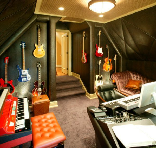 How To Decorate A Home Music Room Home Music Rooms Home Studio Music Music Studio Room