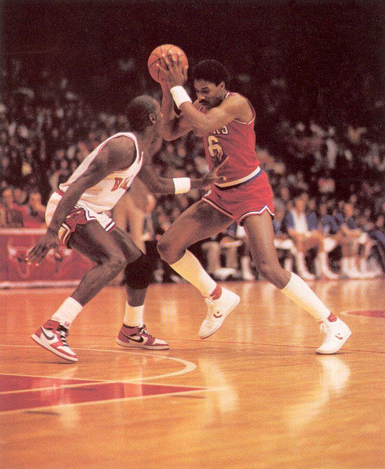 Philly Sixers Dr.J. Defense (1984/85 NBA Season