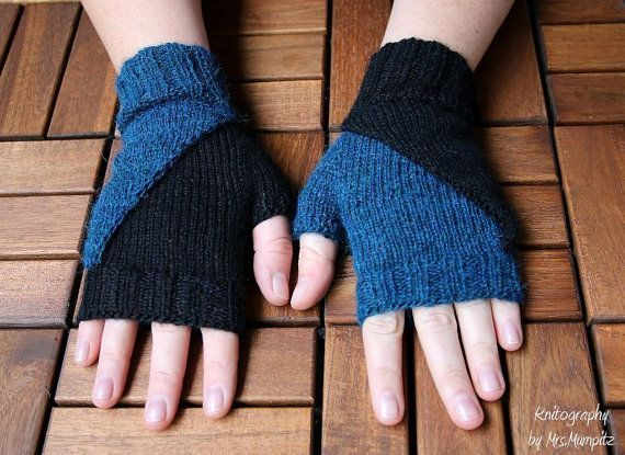 Fingerless Mittens knitting pattern wristers knitting pattern PDF download suitable for adv Fingerless Mittens knitting pattern wristers knitting pattern PDF download sui...