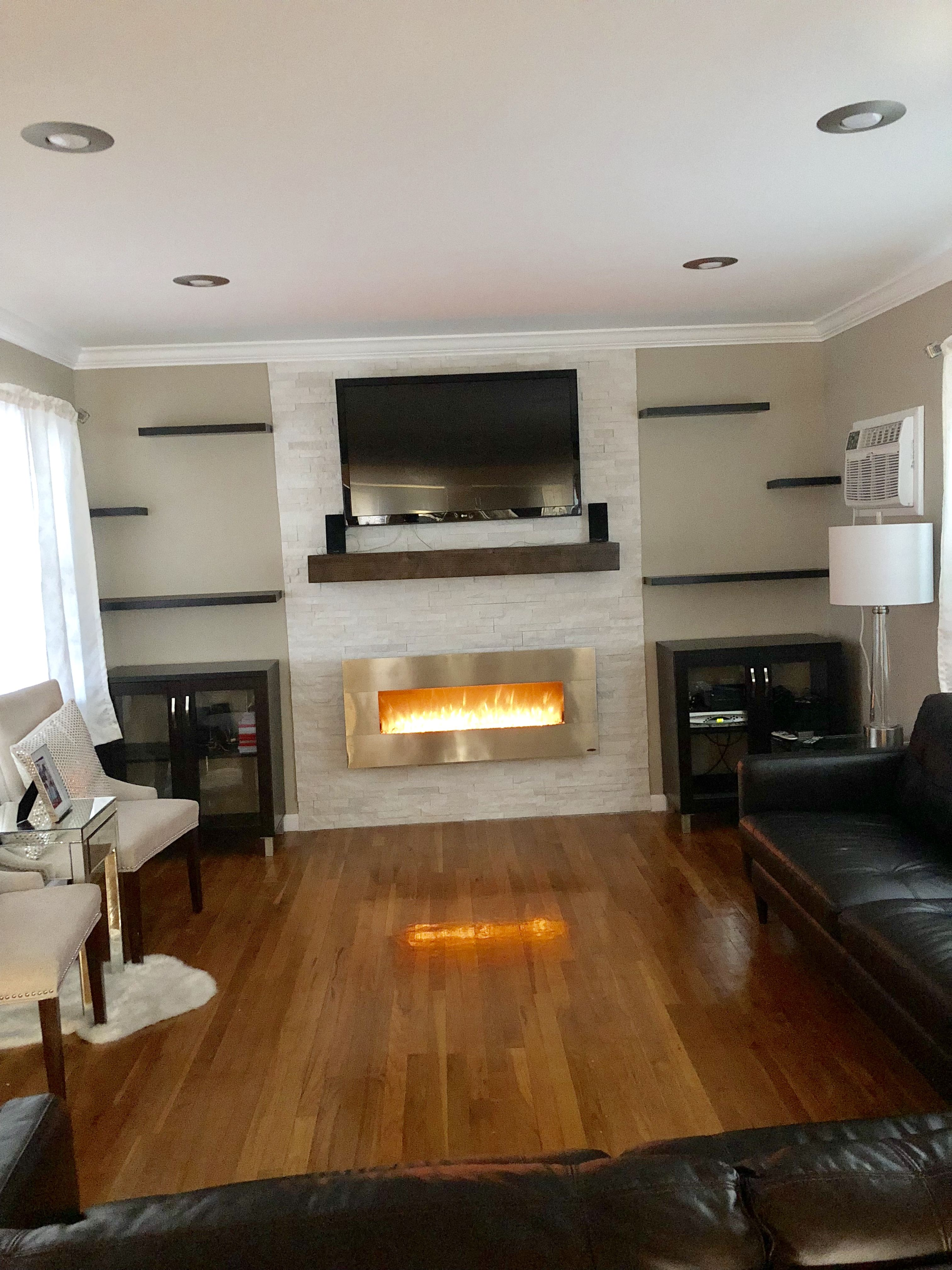 My living room Reno is complete! (With images) | Decor ...