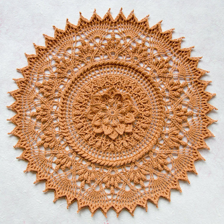 Dorable Patrón Manta Ronda Crochet Colección - Ideas de Patrones de ...
