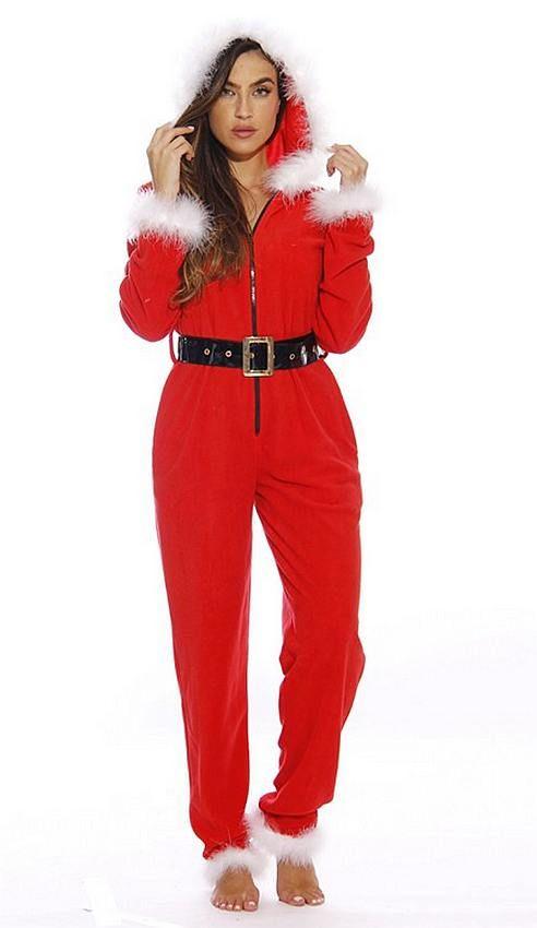 55548f18427 Mrs Santa Christmas Onesie