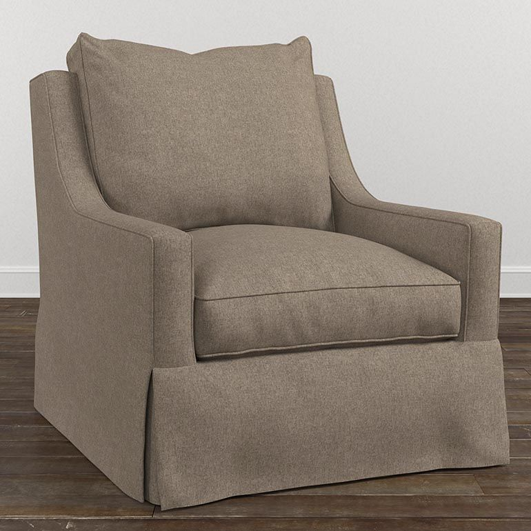 Exeter Accent Chair | Swivel chair living room, Accent