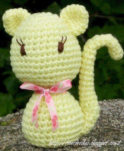 PATTERN: Crochet kitty