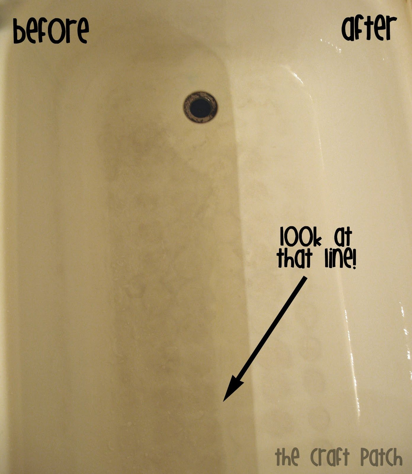 Tub Cleaner (because cleaning is cheaper than replacing ...