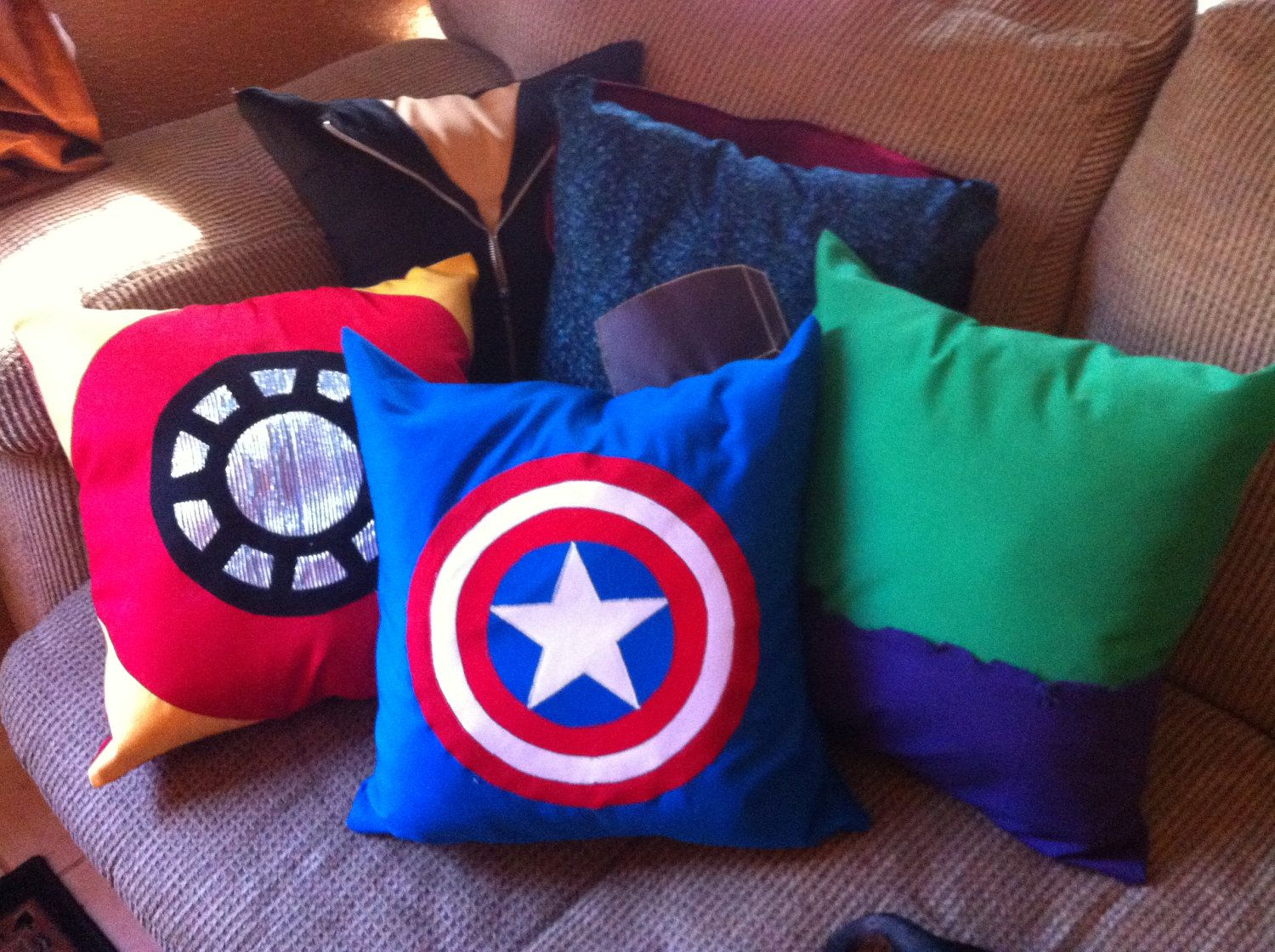 Avengers Pillows. My Superhero Obsession Pinterest Pillows, Easy and Etsy