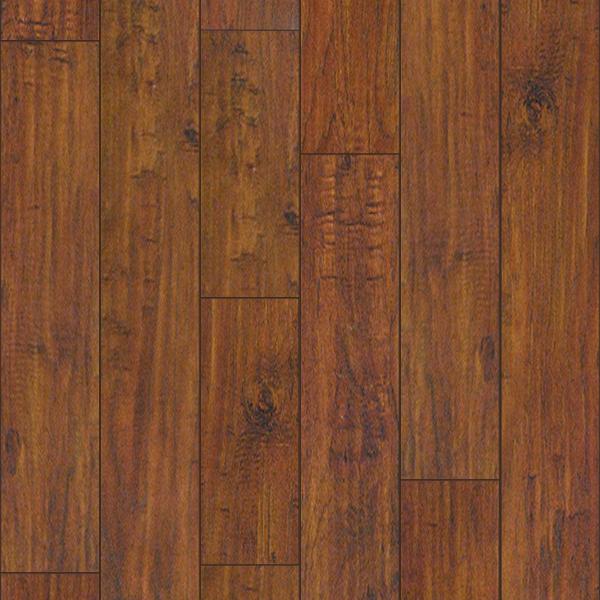 Legends Series Hand Sed Random Lengths Rustic Scarlet Hickory Laminate Flooring