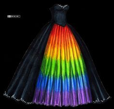 Crazy Dresses Google Search Old Wedding Dresseswedding Dress Blackwedding Dresssesrainbow