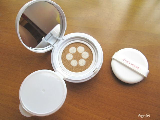 The Beauty Sweet Spot: REVIEW: Etude House Precious Mineral Any Cushion P...