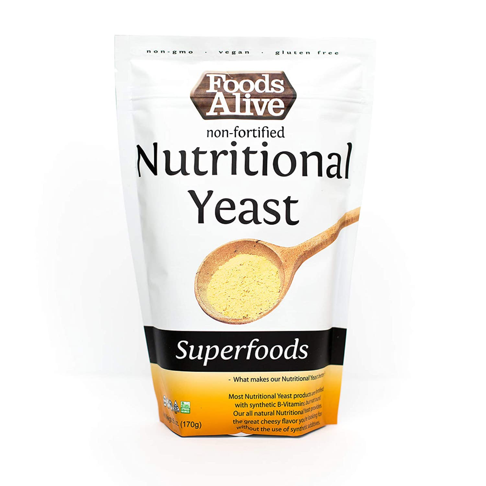 Amazon Com Nutritional Yeast Flakes Non Fortified Plant Based Protein Vegan Cheese Powder Substitute 6oz In 2020 Nutritional Yeast Plant Based Protein Nutrition