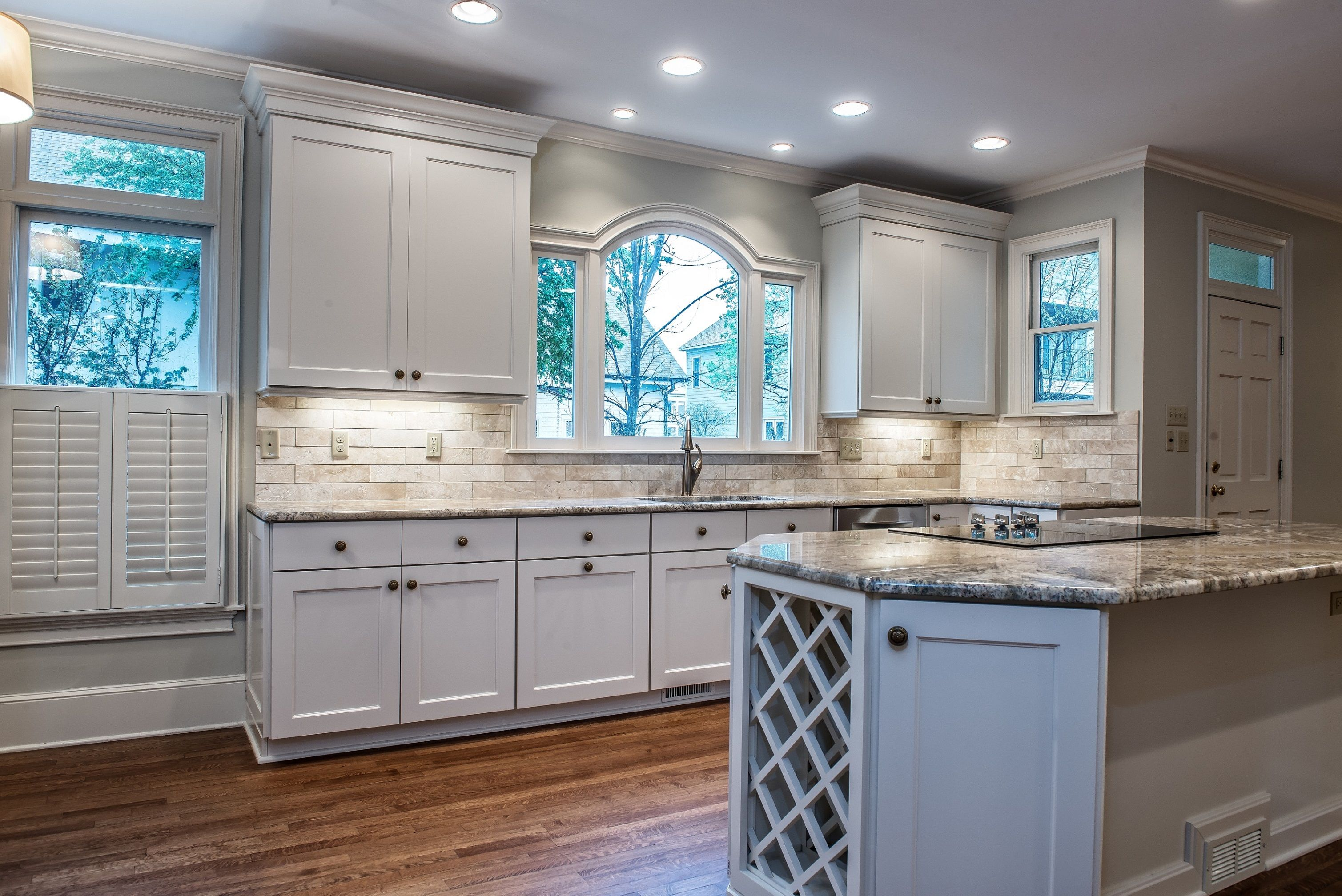 Kitchen Remodel with Wine Cabinet by Heritage Builders ...